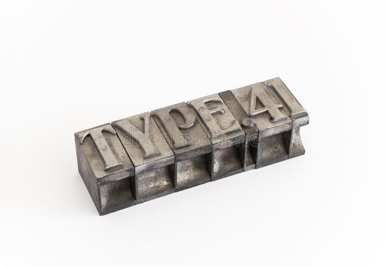 Metal type (cast metal sort)