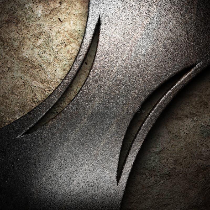 Download Metal on wall stock illustration. Illustration of frame - 27615834