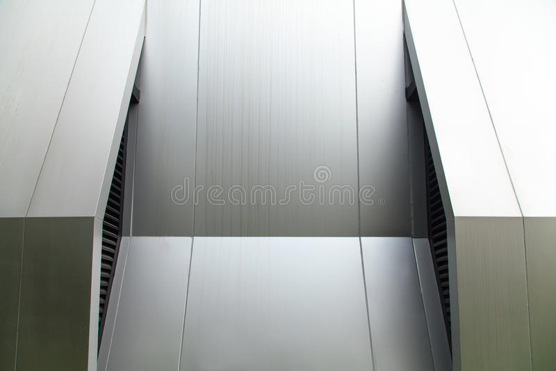 Metal wall royalty free stock images