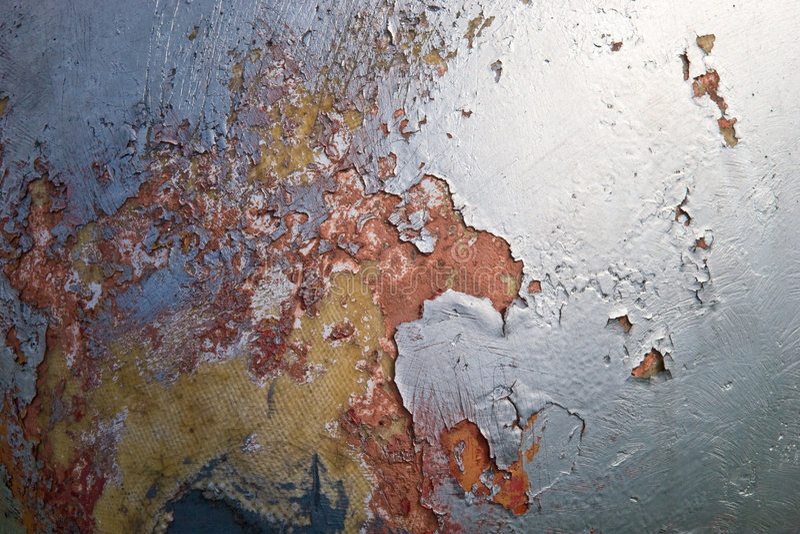 Metal wallpaper. Abstract weathered metallic texture wallpaper royalty free stock image