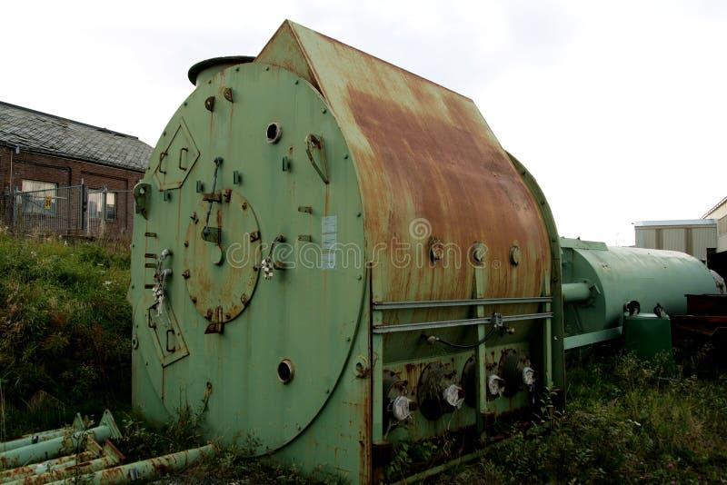 Metal washer royalty free stock photo