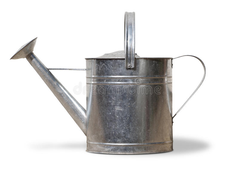 Metal Watering Can royalty free stock photo