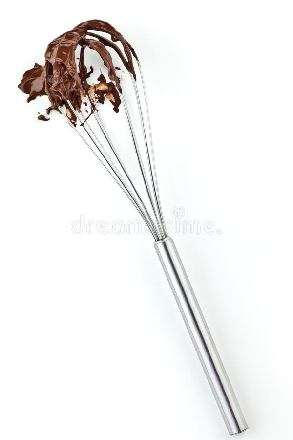 Free Metal Whisk With Chocolate Stock Photo - 17519400