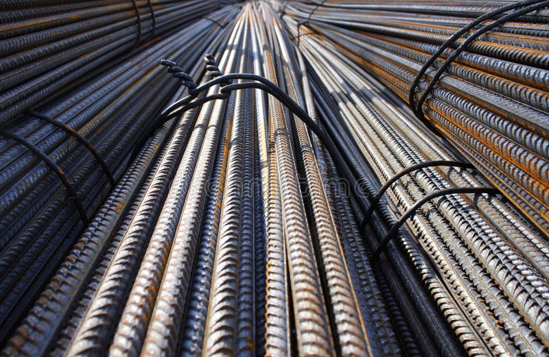 Metal wire - close-up stock images
