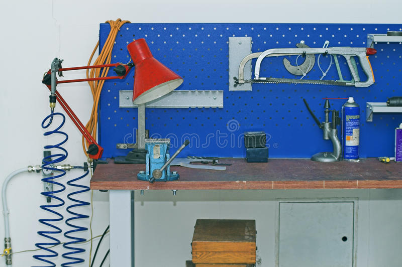 Download Metal Workbench Royalty Free Stock Photo - Image: 13202755