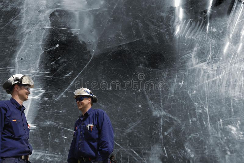 Download Metal workers and steel stock photo. Image of steel, metal - 21305122