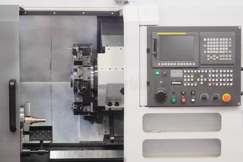 Metal-working machine. The image of metal-working machine stock images
