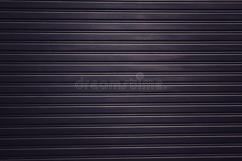 Metal zasłony tekstury zmroku drzwiowego realistycznego światła tła tapety gradientowa tekstura obrazy stock
