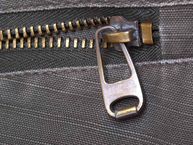 Download Metal zipper stock photo. Image of accessory, pocket - 14904718