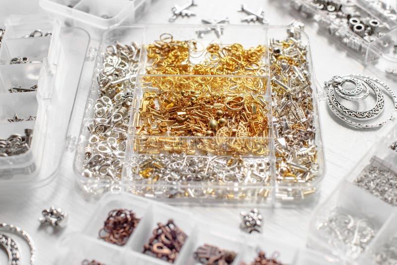 Metale dla bijoux obrazy royalty free