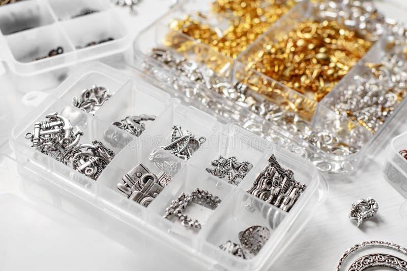 Metale dla bijoux obrazy stock