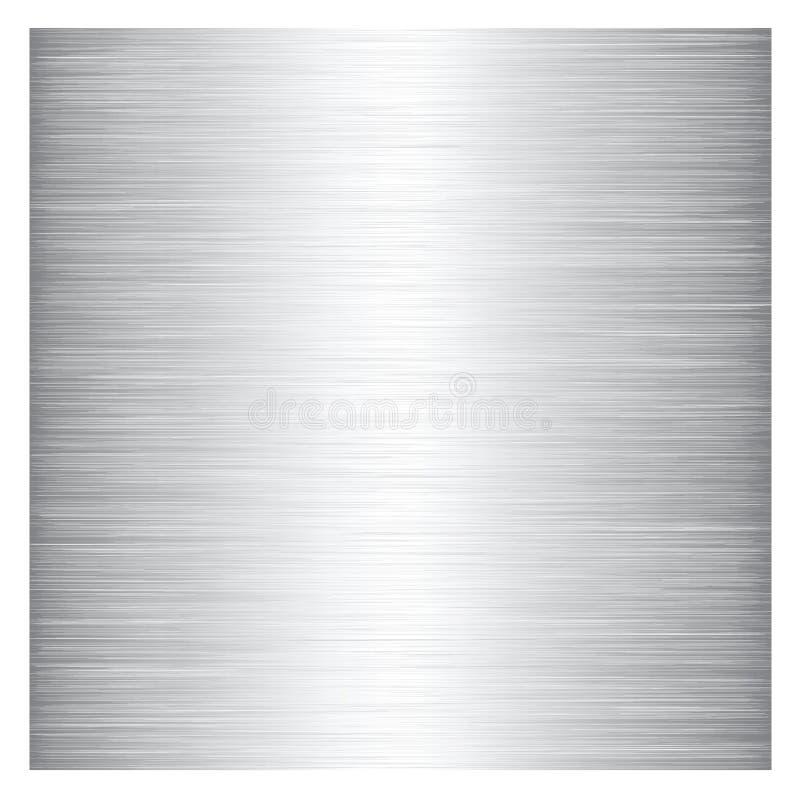 Metales de diversos colores. stock de ilustración