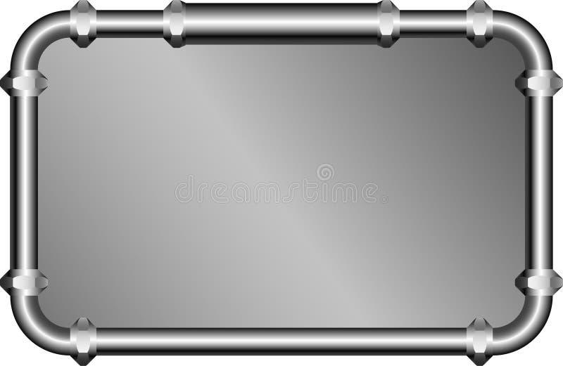 Metalframe illustration libre de droits