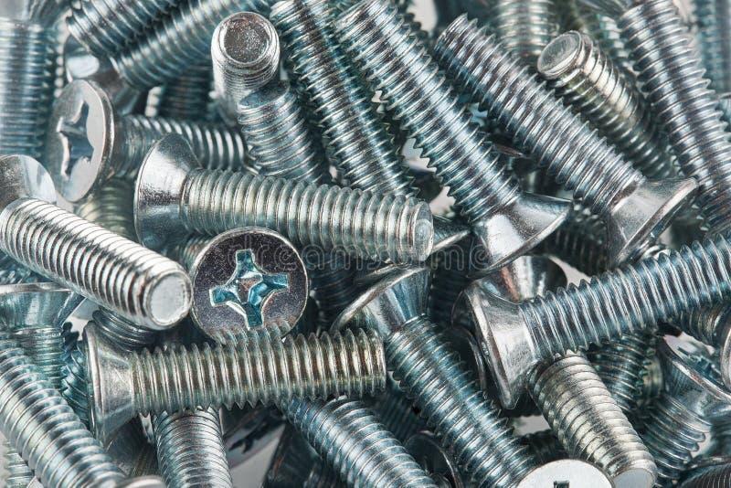 Metali narzędzia i naprawianie elementy zestawów narzędzi obrazy stock