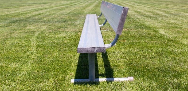 Metali sportów ławka obrazy stock