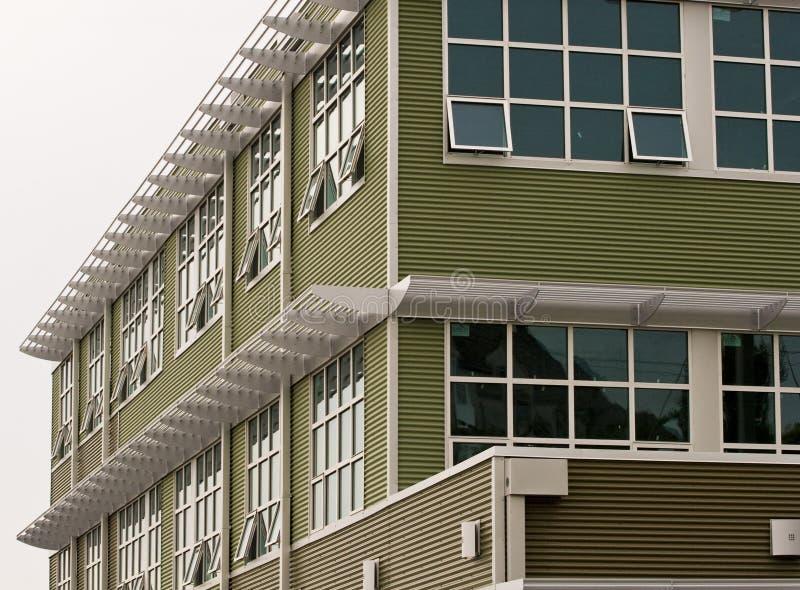 metali TARGET349_1_ zieleni okno zdjęcie stock