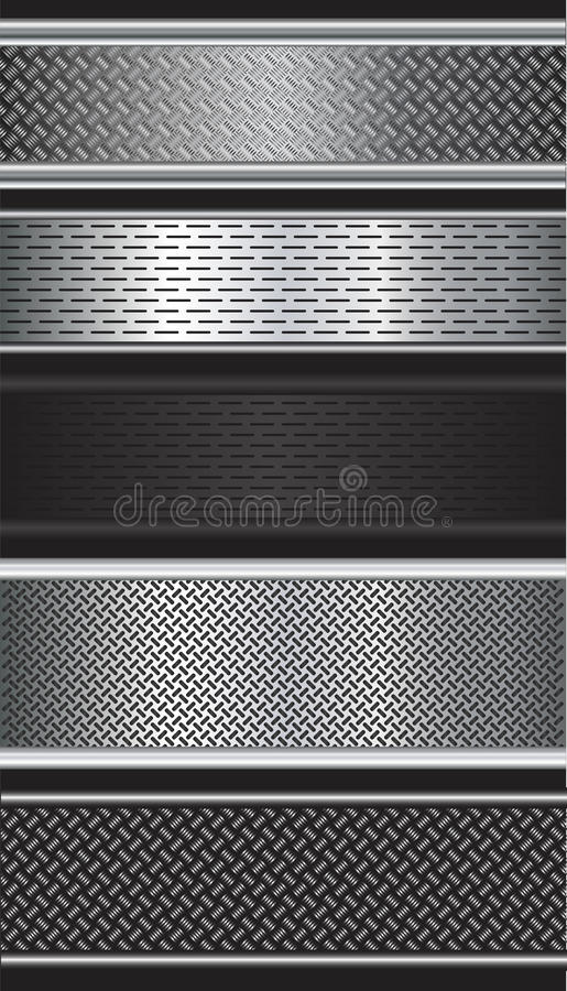 Download Metalic background stock vector. Image of hard, material - 33083397
