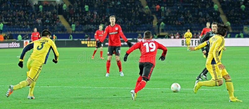 Metalist Kharkiv Vs Bayer Leverkusen Match Editorial Stock Image