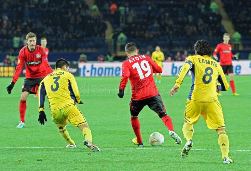 Download Metalist Kharkiv Vs Bayer Leverkusen Match Editorial Photography - Image: 28257822