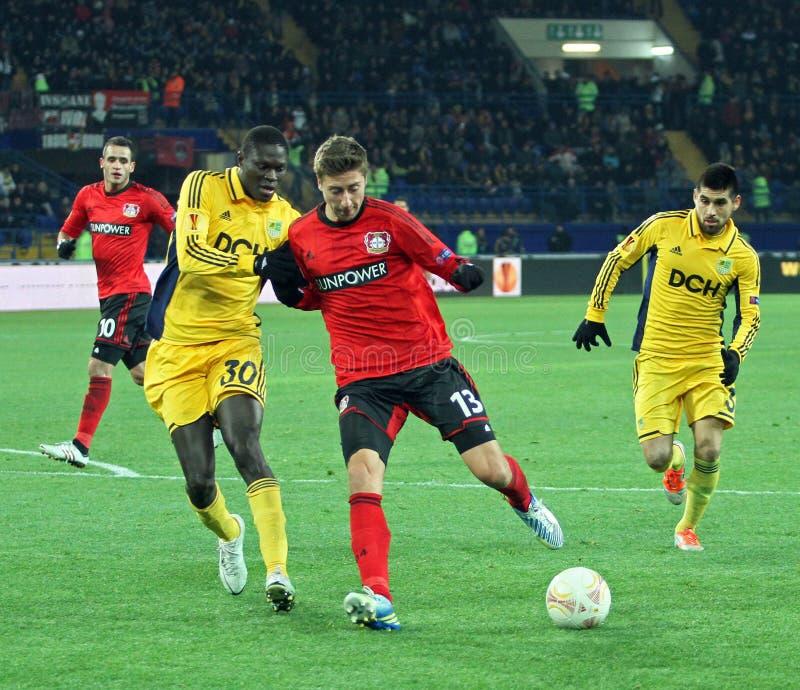 Download Metalist Kharkiv Vs Bayer Leverkusen Match Editorial Stock Photo - Image: 28257823