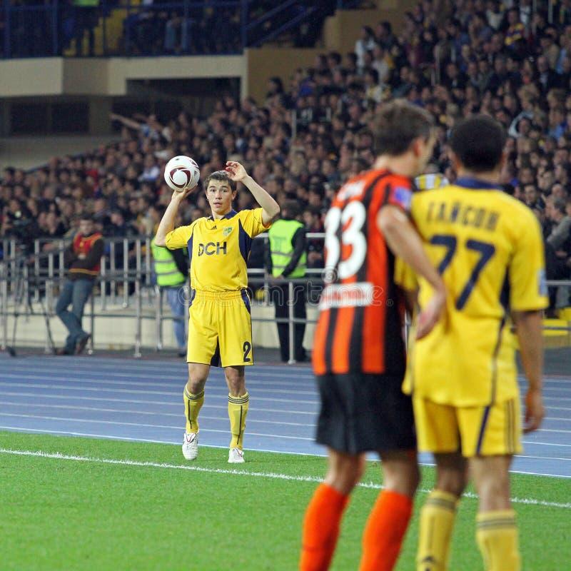 Download Metalist Kharkiv Vs Shakhtar Football Match Editorial Photography - Image of orange, field: 16240442