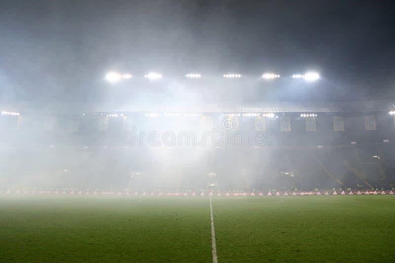 Metalist-Stadion in Charkiw stockfoto