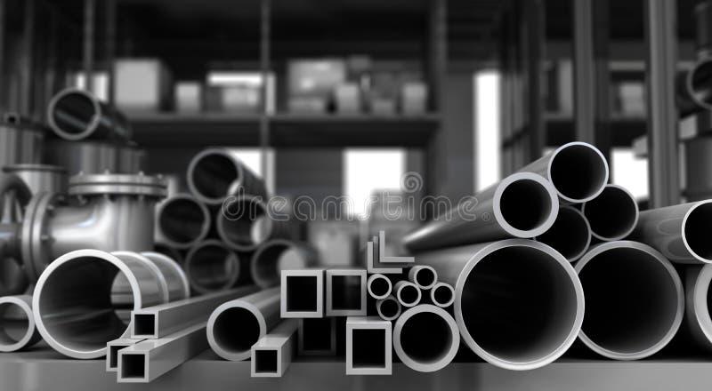 Metall anmärker i lager stock illustrationer