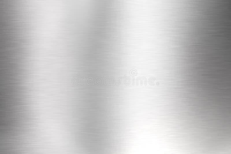 Metall aufgetragener Hintergrund stock abbildung