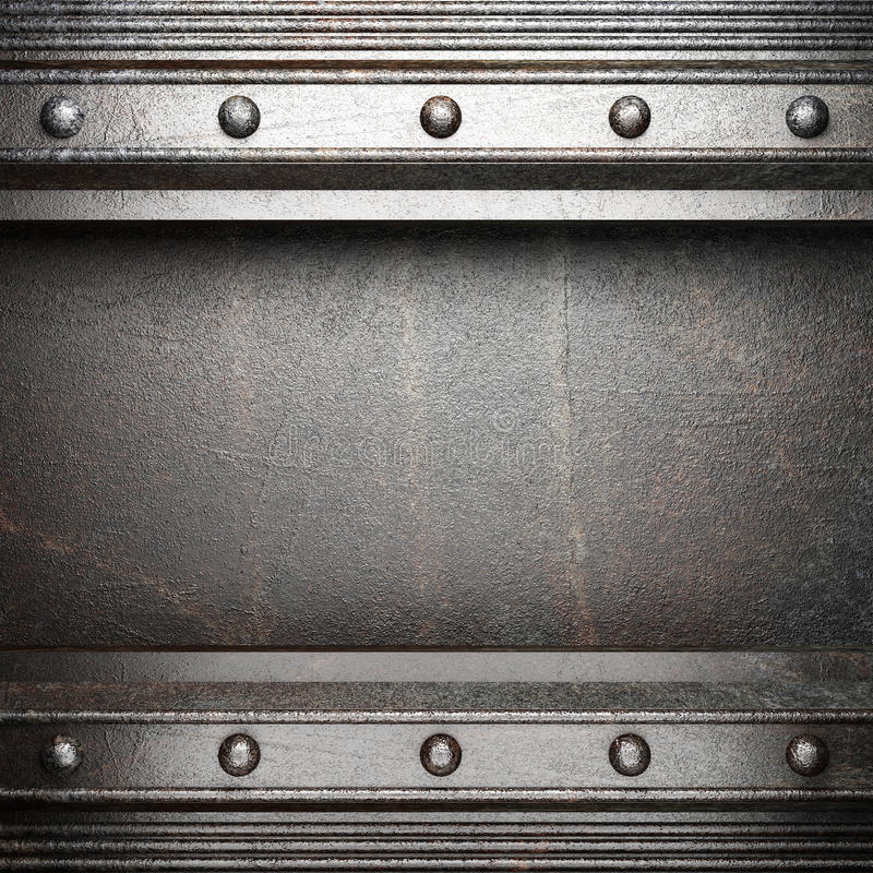 Download Metall background stock illustration. Illustration of rusty - 27739416