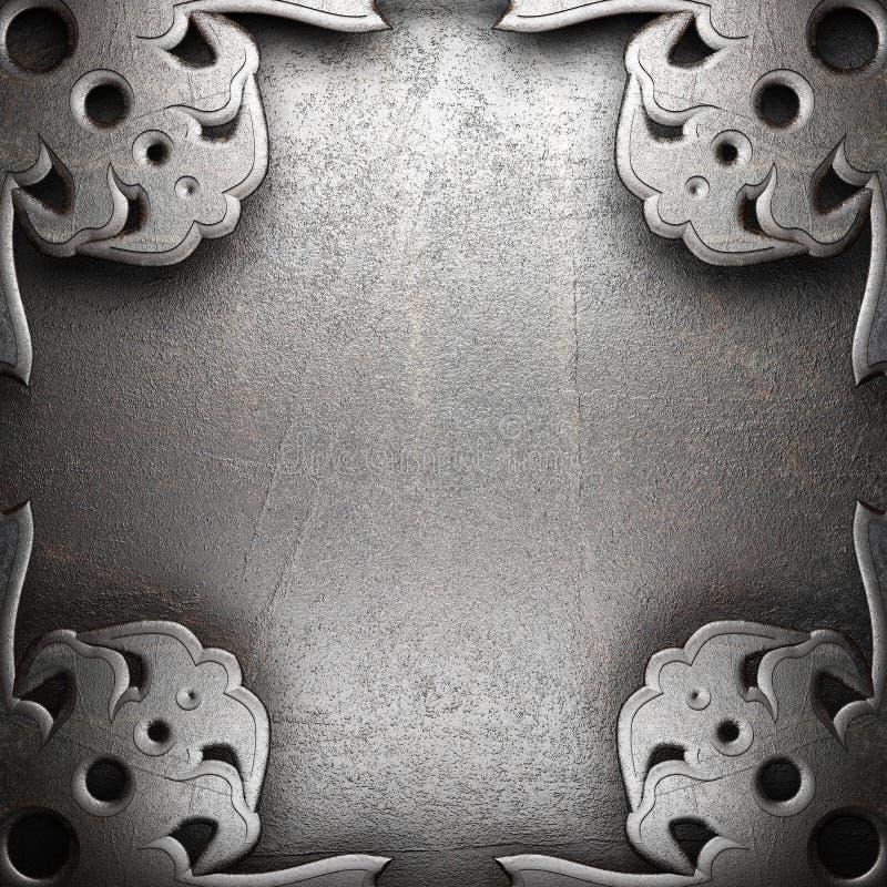 Download Metall background stock illustration. Image of light - 27866959