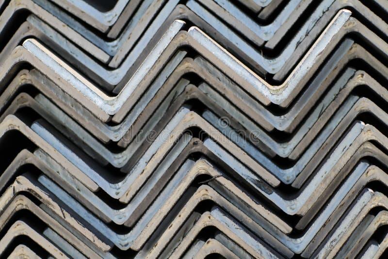 Metall erstellt Winkel ein Profil stockfoto