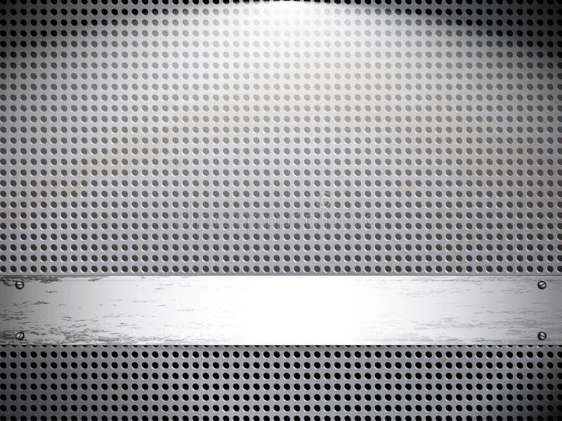 metall för bakgrundsgrungeingrepp stock illustrationer