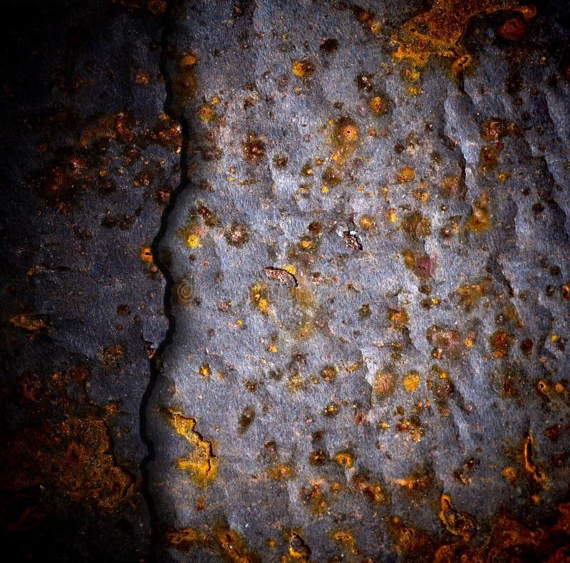 metall för bakgrundskorrosionsgrunge arkivbild