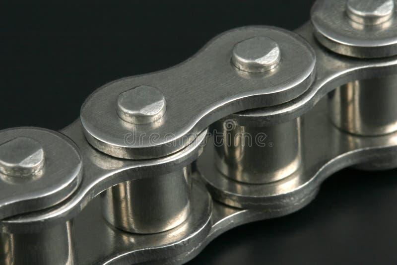 metall för chain sammanlänkning arkivfoto