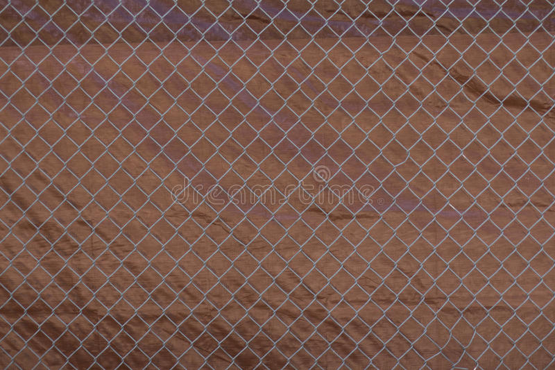 Metall fence royalty free stock images