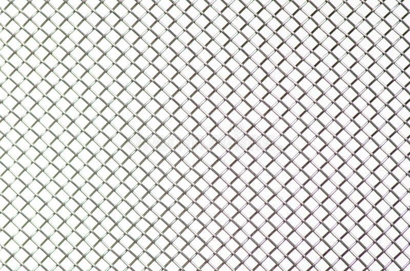 Metall-Gittermakro-industr lizenzfreie stockbilder