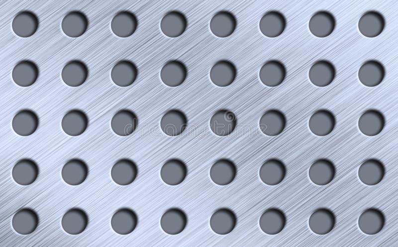Metall mit Abständen stockbilder