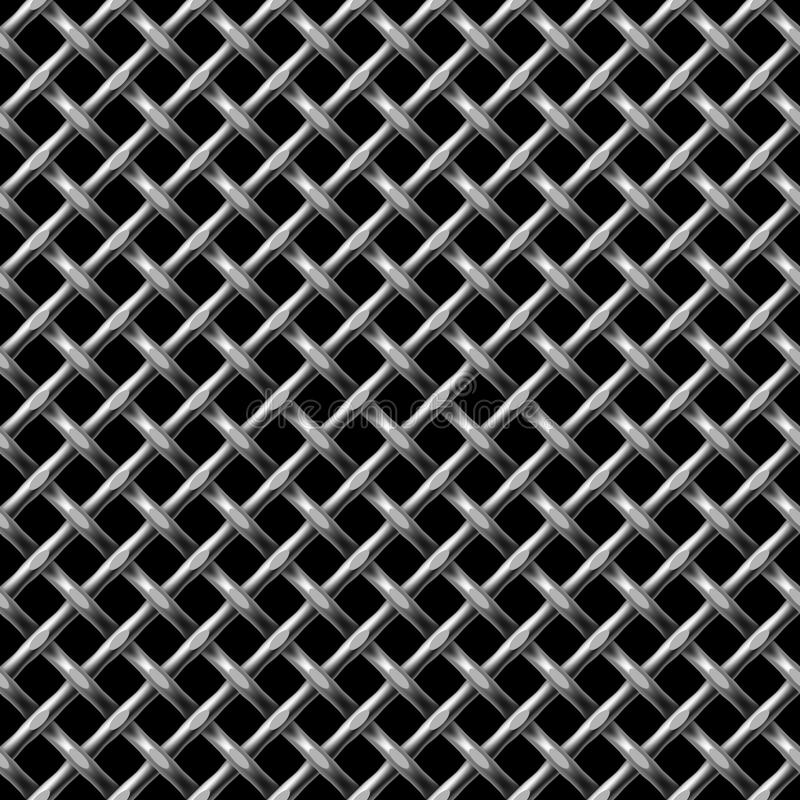 Metall net seamless pattern. royalty free stock photos