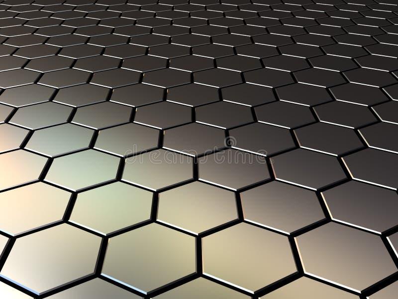 Download Metall pattern stock illustration. Image of cellular - 12876624