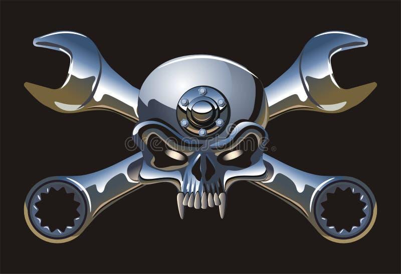 Metall Roger gai de vecteur illustration de vecteur