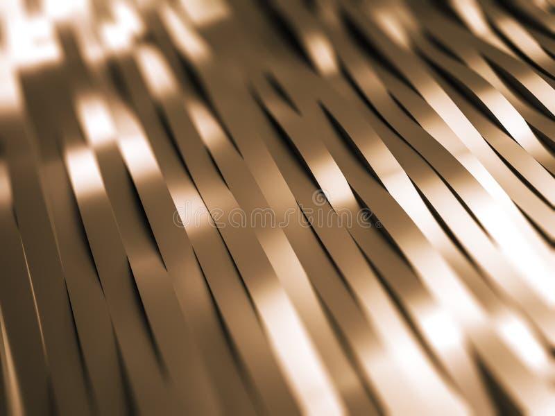Metall streift Hintergrund lizenzfreie abbildung