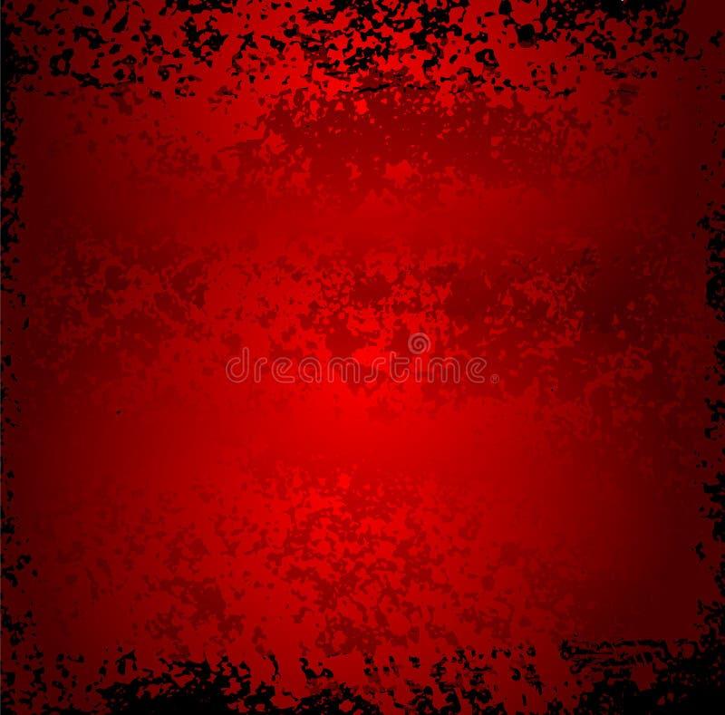 Metallabstrakter grunge Hintergrund lizenzfreie abbildung