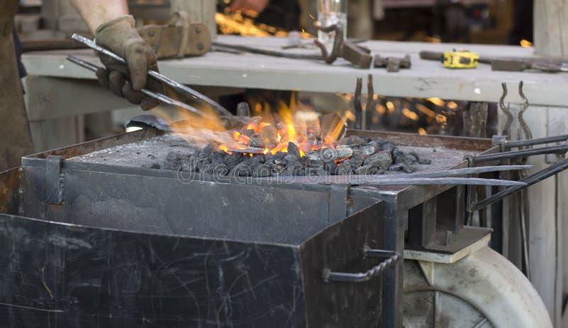 Metallarbetare arkivbild