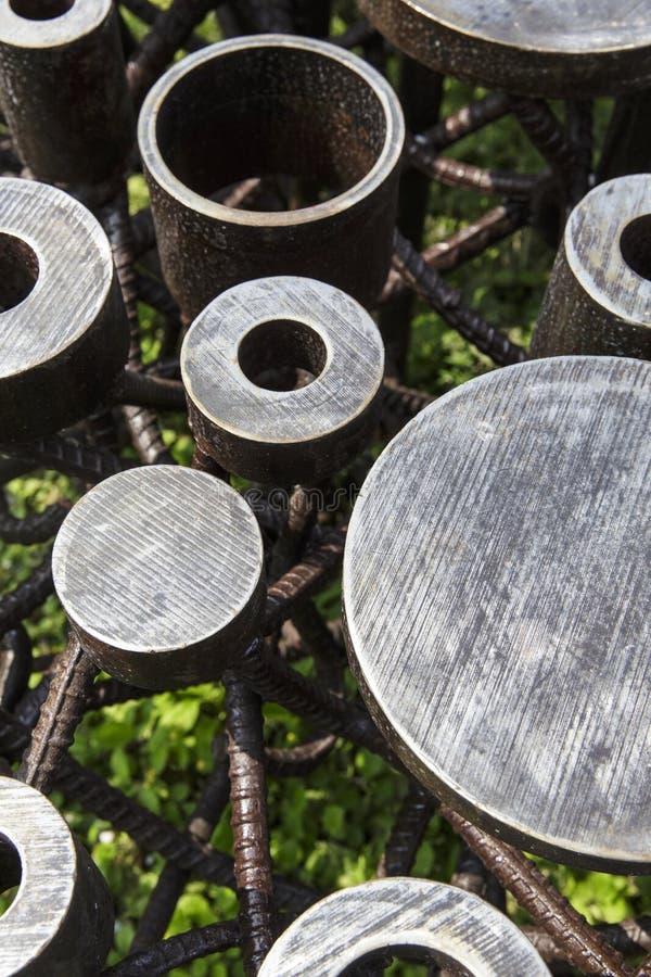 Metallbau lizenzfreies stockbild
