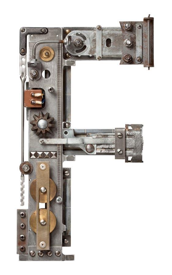 Metallbuchstabe lizenzfreies stockbild