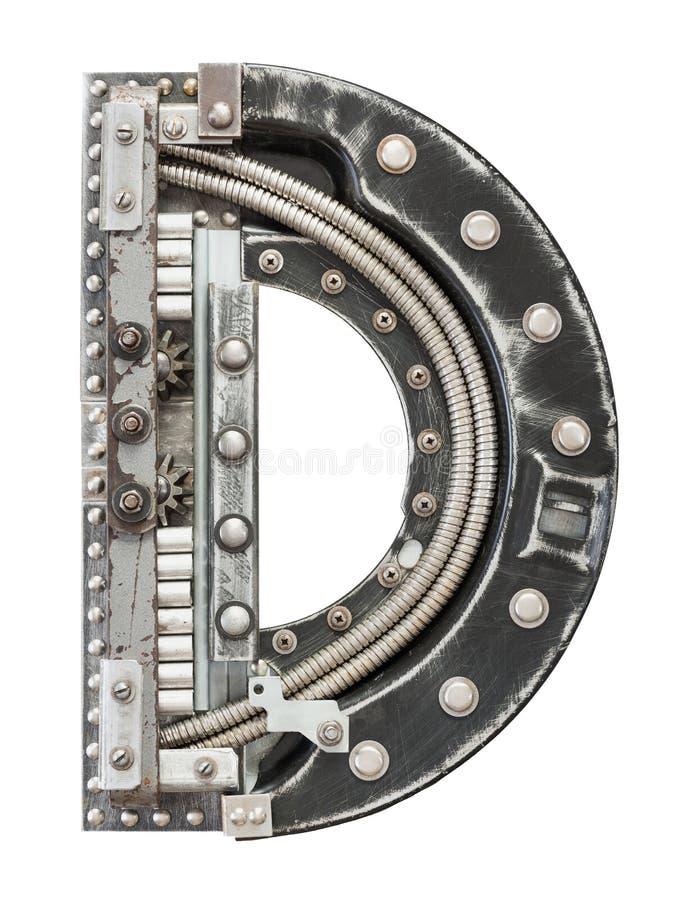 Metallbuchstabe lizenzfreie stockfotografie