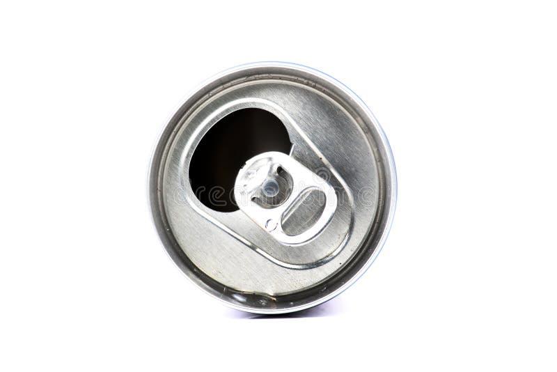 Metallcan arkivfoto