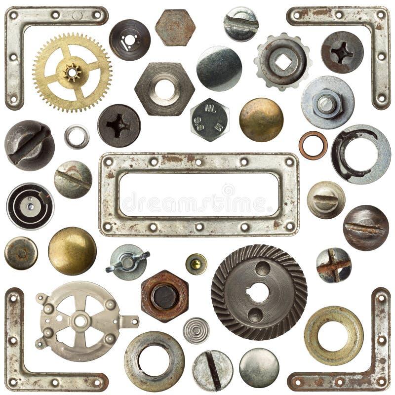 Metalldetails stockfotografie