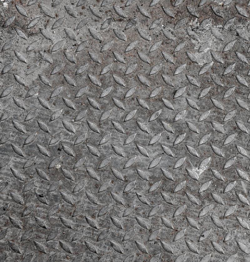 Metalldiamantbakgrund arkivbild
