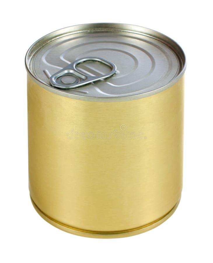 Metalldose lizenzfreies stockbild